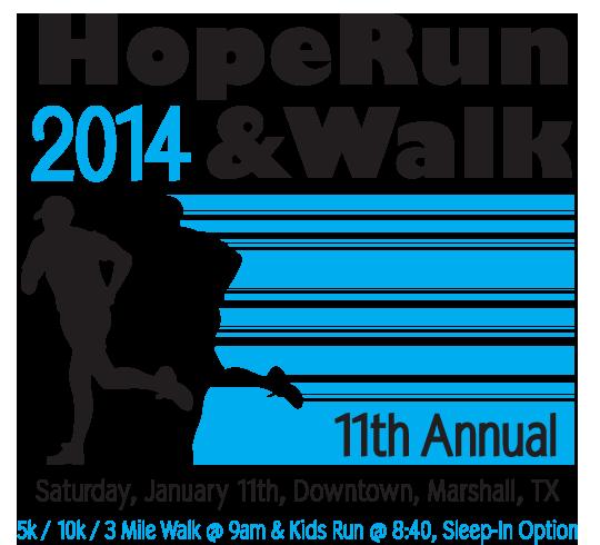 HopeRun & Walk 2014 poster